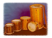 Click on this picture to read more about Tabors from Harms Historical Percussion